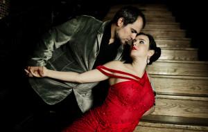 Daniela Pucci and Luis Bianchi